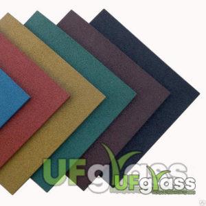 Резиновая плитка для спортивных площадок 200х200х30 мм